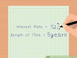 How To Calculate Bond Discount Rate 14 Steps With Pictures