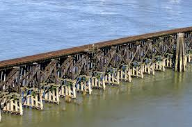 Timber Cantilever Bridge Design Trestle Bridge Wikipediam Org