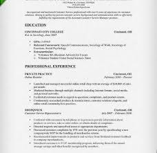 Sociology Resume Examples Sociology Student Resume Example