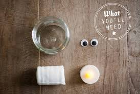 diy mummy jar lights required items