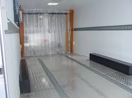 aluminum tread plate flooring e track plastic freeze curtain
