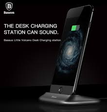 baseus brand 2 4a fast desk charging station dock stand holder for iphone 7 7 plus