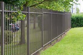 metal fence ideas. Plain Ideas A Very Simple Wrought Iron Fence Without Any Intricate Designs Still Has A  Classic Look On Metal Fence Ideas