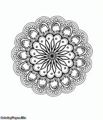 Best Mandala Coloring Pages For Adults To Print For Free