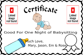 Free Online Babysitting Certification Babysitting Clipart 66484 Webstockreview