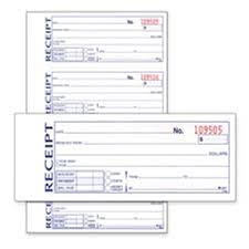 Adams Business Forms Abfdc1182 Money Rent Receipt Book Carbonless 2 Part 7 63in X11in We
