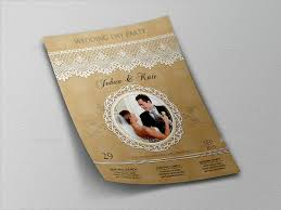 22+ Wedding Flyer Templates | Sample Templates