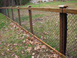 wire fence ideas. 54 Chain Link And Wood Fence, 25 Best Wire Fence Ideas On .. I