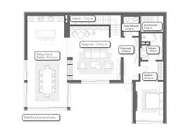 furniture design layout. 1-seven-room-two-floor-villa-house-interior- Furniture Design Layout