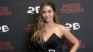 """Emily Trosclair """"Mob Town"""" Los Angeles Premiere Red Carpet - YouTube"""