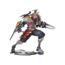 Zed Unlocked Statue Riot Games Store