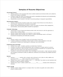 Resume Objective Samples Homework Helpers Geography Geology Science resume objectives 35