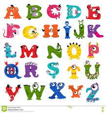 monster images for kids. Unique Monster Download Funny Vector Monster Alphabet For Kids Stock  Illustration  Of Cartoon Language To Images R
