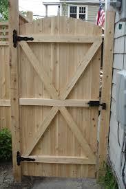fence gate. #F2012 Solid Cedar Gate Fence Gate