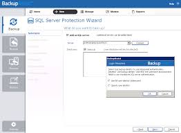 select the server that you want to connect to from the drop down list or enter the name of the sql server or its ip address into the server field