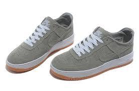 nike air force 1 basse. KH5888 Material Well Nike Air Force 1 Low Suede Grey Men\u0027s Casual Shoes GHJ-#-U.K7931740 Basse E