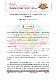 essay mother tongue essay on your mother mother essay describe  mother tongue influence on english language learning