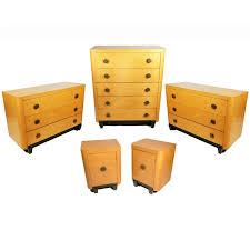 maple bedroom set. art deco bedroom set in bird\u0027s-eye maple 1
