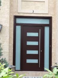 milano 14 combo modern exterior door by