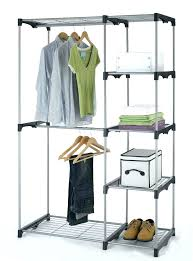temporary closet storage temporary closet storage closet organizer storage rack portable clothes hanger home garment inside