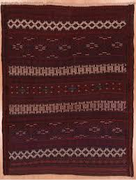 kilim red flat woven 3 11