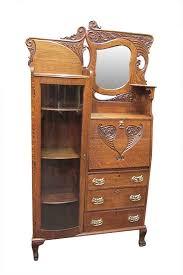 antique oak furniture. Beautiful Oak Oak Secretary For Antique Furniture O