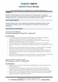 Product Management Resume Custom Assistant Product Manager Resume Samples QwikResume
