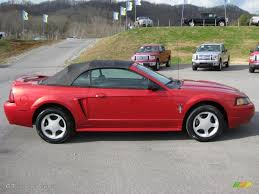 Laser Red Metallic 2000 Ford Mustang GT Convertible Exterior Photo ...