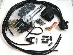 sb chevy sbc small cap h e i hei distributor kit w plug wires sb chevy sbc small cap h e i hei distributor kit w 8 5 mm wires e