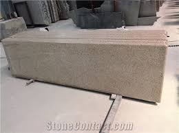 china natural stone quarry manufacture laminated edge g664 bainbrook brown granite countertop work tops kitchen island tops haobo stone company