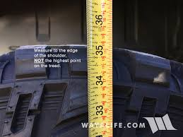Lift To Tire Size Chart Can I Put Larger Tires On My Truck Tirebuyer Com