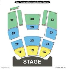 Fox Theatre Foxwoods Seating Chart Wajihome Co