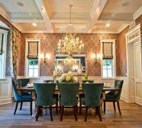 mixed dining room chairs dining room traditional with white oak wood flooring red wal