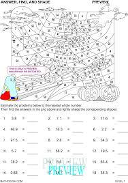 Holiday math worksheets by Math Crush
