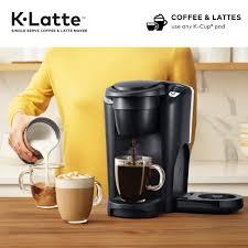 With 4 settings, a 60 oz. Keurig K Latte Single Serve K Cup Coffee And Latte Maker Black Walmart Com Walmart Com