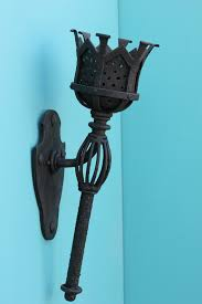 gothic wall sconce wrought iron lightbox moreview