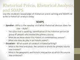 rhetorical precis and rhetorical analysis ap english language and  rhetorical precis rhetorical analysis and soaps use the student s knowledge of rhetorical precis writing