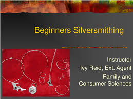 PPT - Beginners Silversmithing PowerPoint Presentation, free download -  ID:40597