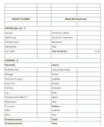 Budget Creator Excel Budget Creator Excel Home Budget Calculator