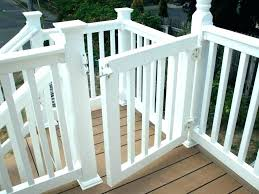 outdoor deck gates for pets baby gate porch safety decks picture concepts stairs and porches aluminum deck gate outdoor