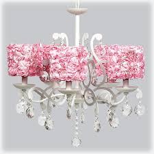 victoria gardens 5 light chandelier with pink rose shades
