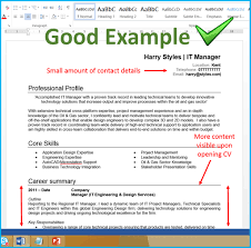 7 Cv Format Tips That Will You More Interviews Show Me What A Resume