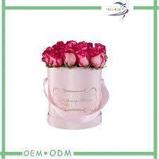 flower box ideas diy printing logos round gift boxes wedding for flowers