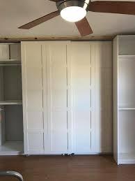bergsbo doors made into sliding barn doors