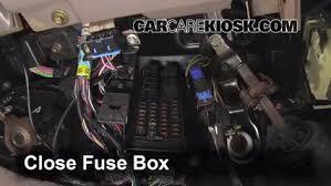 interior fuse box location 1996 1999 mercury sable 1999 mercury 2002 Mercury Villager PCV Valve at Removing Engine Fuse Box Mercury Villager 1997