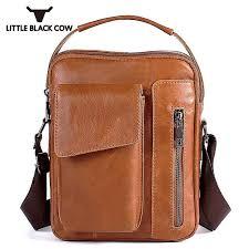 genuine leather messenger for men sling bag mens bags soft zipper belt transpa sac a main femme de marque luxe cuir 2018 hot shoulder bags for women