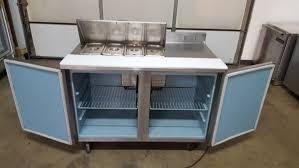 refrigerator table. delfield 4048-8 4 pan prep table refrigerator. refrigerator