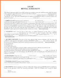 Free Printable Lease Agreement For Renting A House Printable Lease Forms Mistblower Info