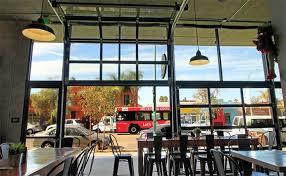 glass garage door restaurant. Glass Garage Doors Door Restaurant