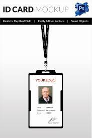 Id Card Templates Free Employee Identity Card Template Awesome 18 Id Card Templates